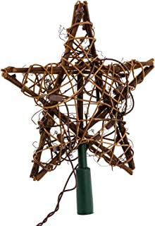 country christmas tree topper