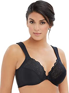 Glamorise Women's Full Figure Underwire Front Close Bra #1245