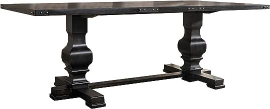 ACME Furniture Morland Dining Table, Vintage Black