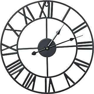 Best oversized wrought iron clock Reviews