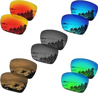 SmartVLT Set of 5 Men`s Replacement Lenses for Oakley Catalyst Sunglass Combo Pack S02