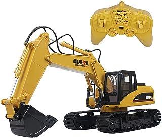 Excavator Model Mini Construction Toys Model Excavator Erector 1:60 Crawler Excavator Car Vehicle Toy