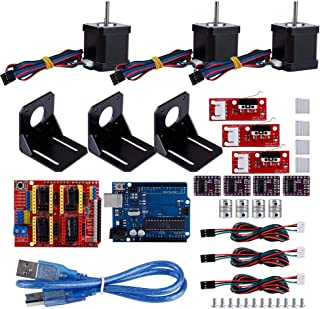 Professional 3D Printer CNC Controller Kit for A4988 or DRV8825 Stepper Drive, CNC Guarding Board + Board for Kuman + 3 * ...