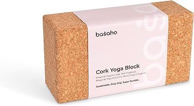 basaho Kurk Yogablok | Duurzaam en Milieuvriendelijk | Antislip Yoga block