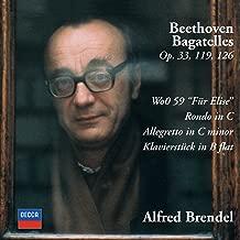 Best alfred brendel beethoven bagatelles Reviews