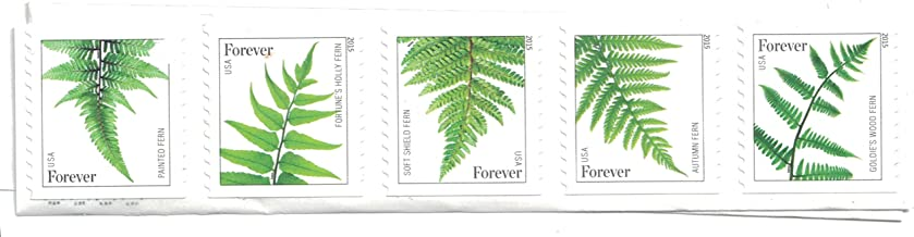 USPS Ferns Forever Stamps - 25 Stamps