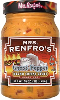 Mrs. Renfro's Nacho Cheese Sauce with Ghost Pepper, 16 oz