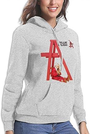 f0e105986 Amazon.com: Billie Eilish Women's Ideal Hoodie Sport Pullover Gray: Clothing