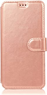 WiseSwim Leather Flip Case Fit for Samsung Galaxy S20 Plus, Kickstand Card Holders Extra-Durable Pink Wallet Cover for Sam...