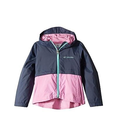 Columbia Kids Rain-Zillatm Jacket (Little Kids/Big Kids) (Nocturnal/Orchid/Gulf Stream) Girl