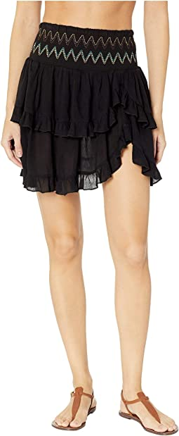 Heat Wave Ruffle Skirt Cover-Up