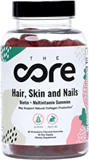 does hair skin and nails gummies work