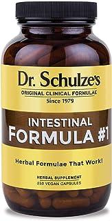 Dr. Schulze's Intestinal Formula #1 | All Natural Bowel Cleanse | Promotes Regular & Complete Bowel Movements | Improves D...