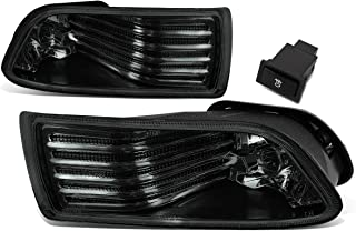 For Scion tC Pair of Bumper Driving Fog Lights w/Switch (Smoke Lens)