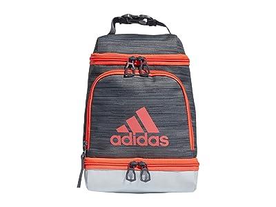 adidas Excel Lunch Bag (Looper Grey/Sky Tint/Signal Pink/Onix) Bags