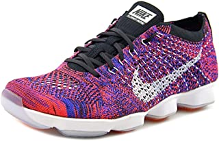 Nike Women's Flyknit Zoom Agility Ankle-High Fabric Training Shoes