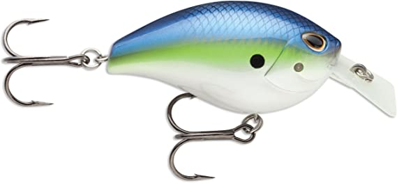 Storm Arashi Square 5  Crank Bait Chartreuse Bk Back  New In The Package  AR11