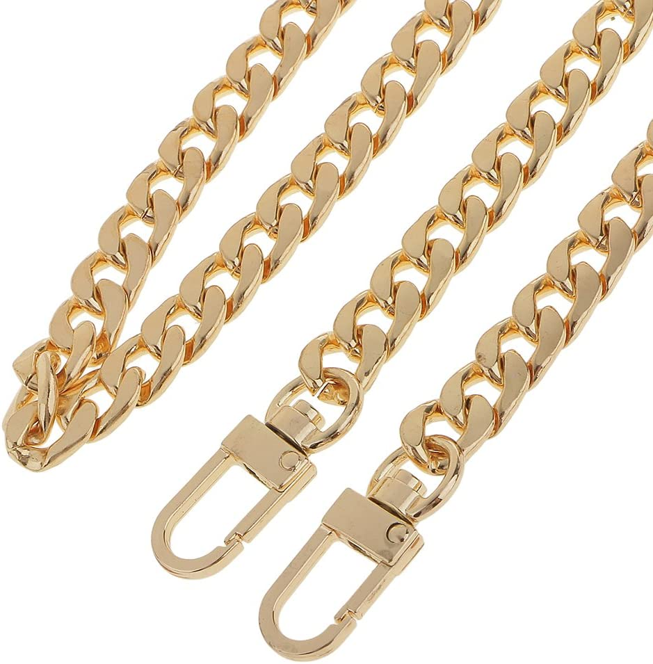 Sharplace Kette Trageriemen Schulterriemen Schultergurt Tragegurt Fuer Damen Handtaschen Bronze