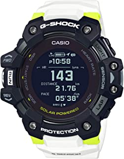 GBDH1000-1A7 G-Shock Men's Watch White, Yellow 63mm Resin/Stainless Steel