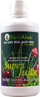 Real Aloe Vera Super Juice, 32 Fluid Ounce