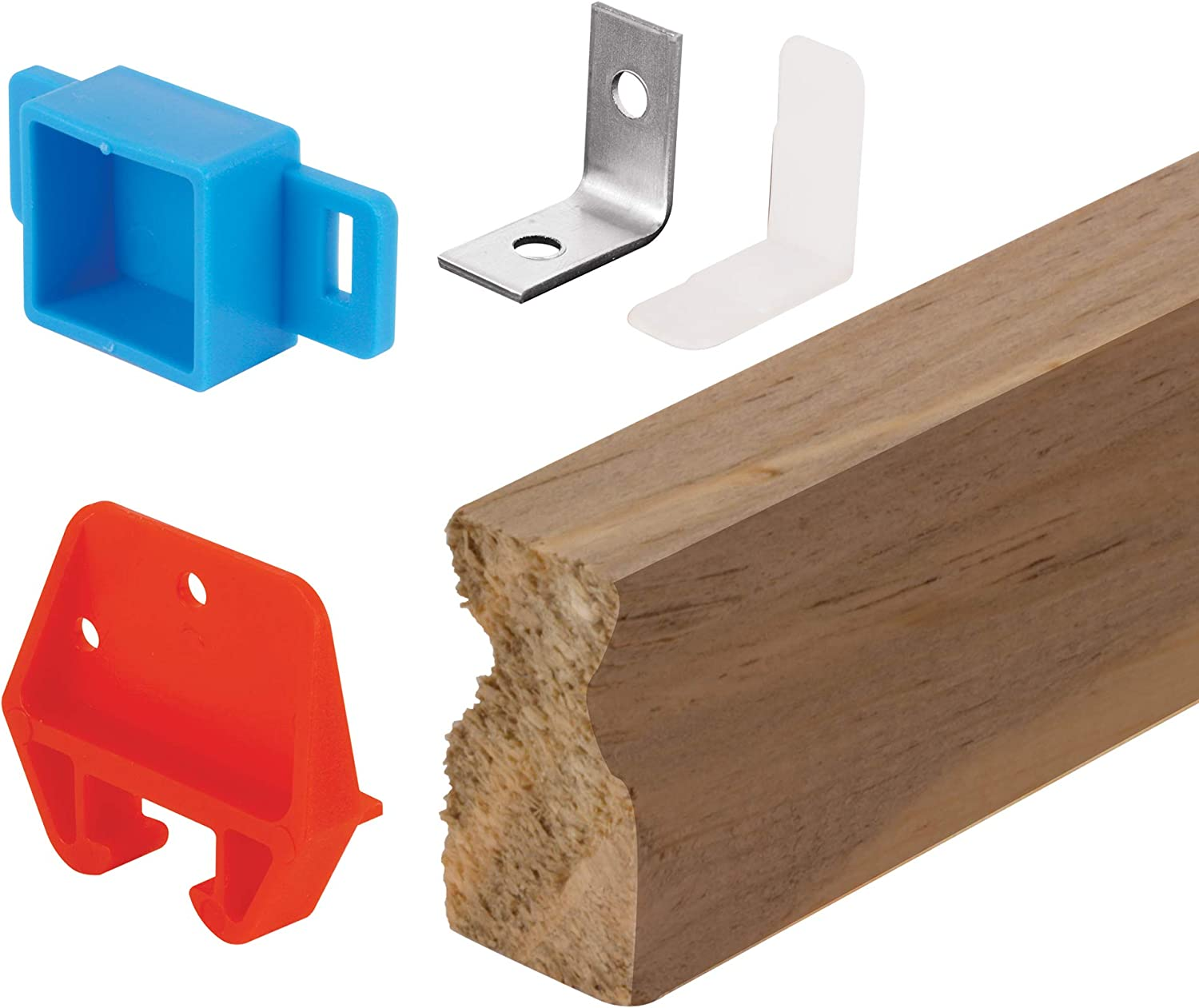 Prime-Line Max 72% OFF MP7144 Drawer Track Repair Kit 24 Wood S Plastic in Sale Special Price