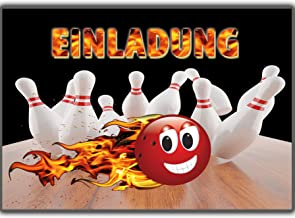 Kindergeburtstag kostenlos bowling einladung drucken Bilder bowling