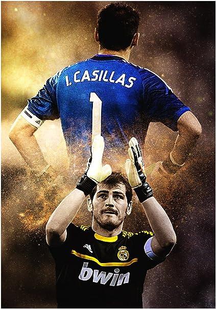 Instabuy Posters Real Madrid (B) I. Casillas - A3 (42x30 cm)