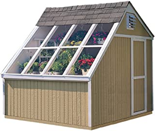 Handy Home Products Phoenix Solar Shed with Floor, 10 by 8-Feet