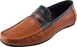 Chamois Genuine Leather Loafers for Mens