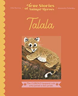 Talala: The curious leopard cub who joined a lion pride