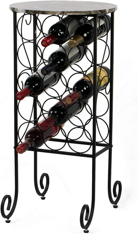 Petiture 15 Wine Rack Table Mesa Mall Stora Sacramento Mall Floor Bar Freestanding