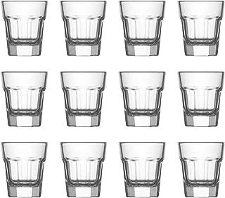LAV Aras Liqueur Shot Drinks Glasses, 45ml - Set of 12