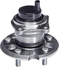 TUCAREST 512280 Rear Wheel Bearing and Hub Assembly Compatible With 2004 2005 2006 2007 2008 2009 2010 Toyota Sienna [FWD 5 Lug W/ABS]