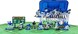Kaskey Kids Baseball Guys – Blue/Black Inspires Kids Imaginations with Endless Hours of Creative, Open-Ended Play. Includes 2 Teams & accessories – 27 pieces in every set!