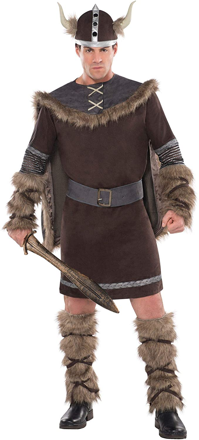 Viking Raleigh Mall Warrior Large Regular discount Costume Adult