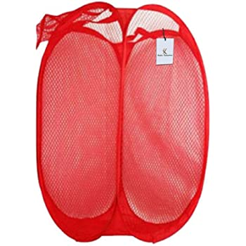 Kuber Industries Nylon Mesh Laundry Basket (CTKTC1481)
