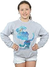 Disney niñas Princesses Ariel Filled Silhouette Camisa De Entrenamiento