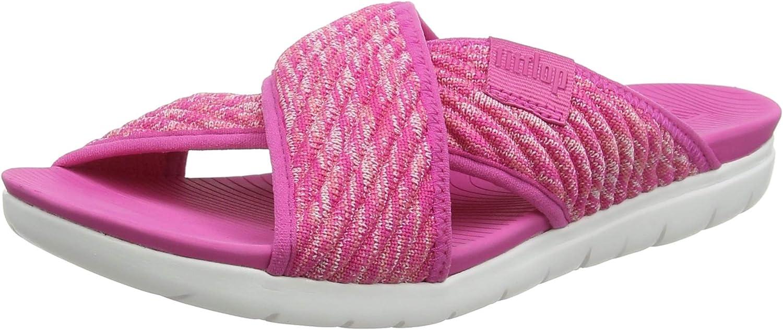 FitFlop Women's High material Heels Over item handling ☆ Toe Sandals Open