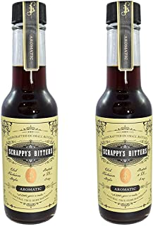 Scrappy's Bitters - Aromatic, 5 ounces - Organic Ingredients, Finest Herbs and Zests, No Extracts, Artificial Flavors, Che...