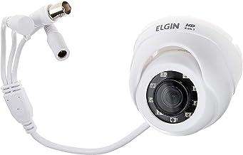 Mini Câmera de Segurança 4 em 1, Dome, Resolução 720P, IR 15m, Lente 2.8mm, Elgin, 42C41IMT2M00, Branco