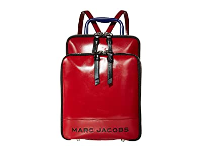 Marc Jacobs The Retro Backpack (Cranberry) Backpack Bags