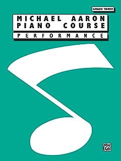 Michael Aaron Piano Course Performance: Grade 3