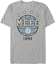 Manchester FC Soccer Ball Logo Adult T-Shirt