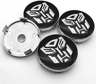 Wielnaafdoppen naafkappen wielen Sticker 56mm en 60mm Embleem Wiel Center Hub Caps Badge Covers Auto-accessoires (Color : Y4)