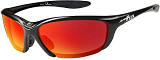 Flux Sunglasses for Men and Women: Polarized UV Protection Sports Sunglasses for Baseball, Golf, Hunting, Running, Driving; Specialized Bike Accessories, Climbing Gear & Shooting Glasses for Gifts