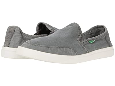 Sanuk Vagabond Slip-On Sneaker (Charcoal) Men