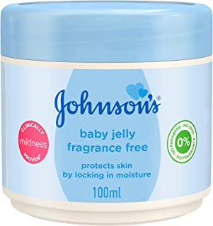 Johnson Jelly for baby skin , Fragrance Free , 100 ml