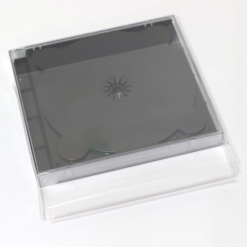 カロリーリンスペンス【Amazon.co.jp 限定】オーバルマルチメディア 17mm厚DUOケース用ケース保護スリーブ10枚 ケースを守る透明袋
