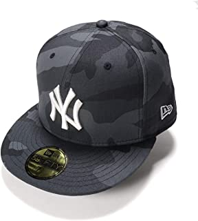 (ニューエラ) NEW ERA キャップ 59FIFTY MLB ニューヨークヤンキース ミッドナイトカモ カモフラ 迷彩柄