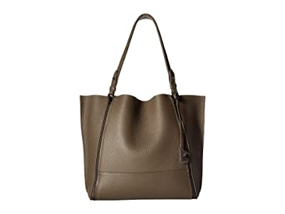 Botkier Soho Big Zip Tote (Winter Grey) Tote Handbags